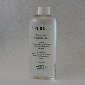 pure deodorant 500 ml refill